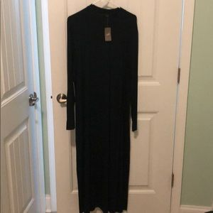 J Jill Wearever long sleeve maxi dress
